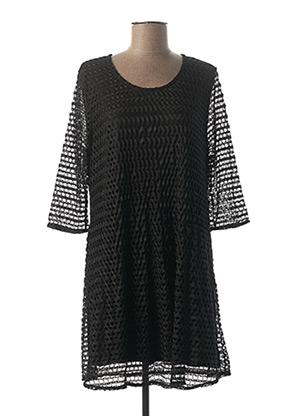 Robe courte noir CISO pour femme