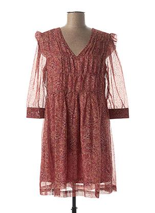 Robe courte rouge GRACE & MILA pour femme