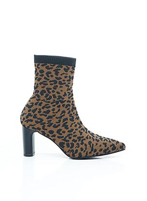 Bottines/Boots marron VANESSA WU pour femme
