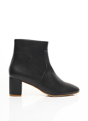 Bottines/Boots noir MINUIT SUR TERRE pour femme
