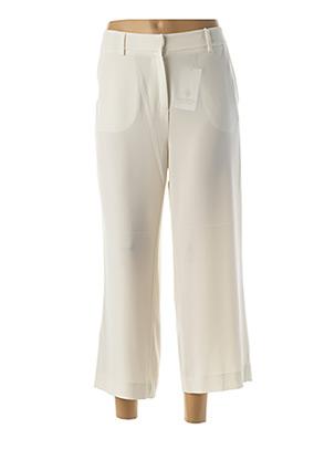 Pantalon 7/8 beige PIU PIU pour femme