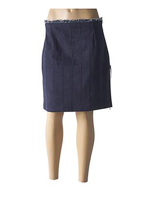 Mini-jupe bleu LO! LES FILLES pour femme