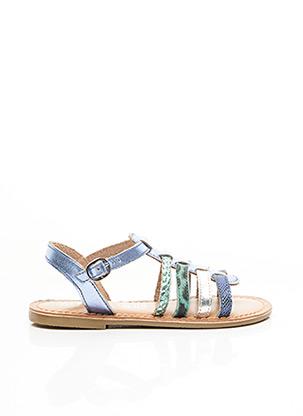 Sandales/Nu pieds bleu I LOVE SHOES pour fille