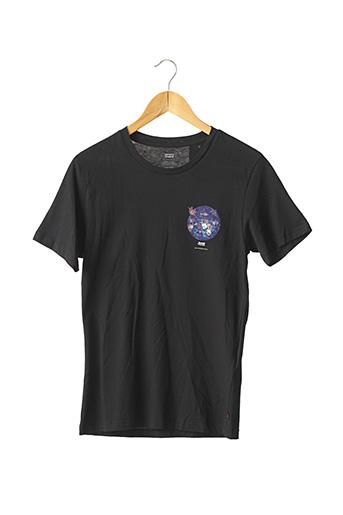 T-shirt manches courtes noir LEVIS pour homme