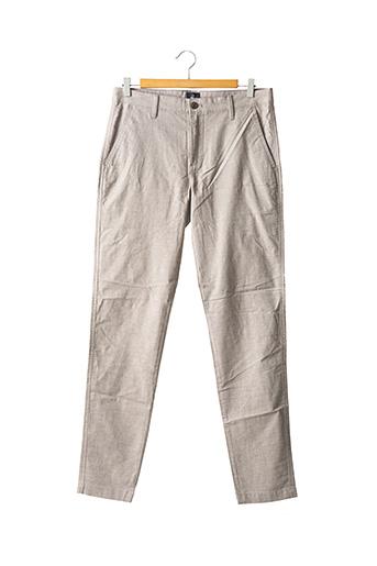 Pantalon casual gris DOCKERS pour homme
