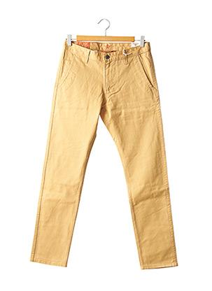 Pantalon casual jaune DOCKERS pour homme
