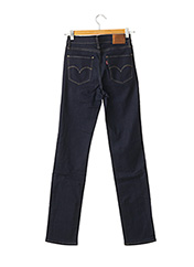 Jeans coupe droite bleu LEVIS pour femme seconde vue