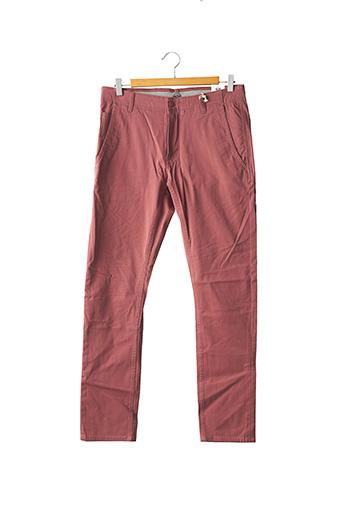 Pantalon casual rose DOCKERS pour homme