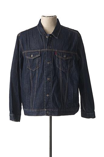 Veste en jean bleu LEVIS pour homme