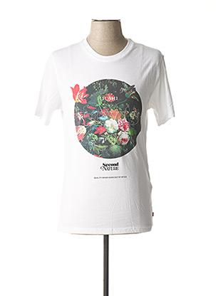 T-shirt manches courtes blanc LEVIS pour homme