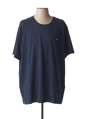 T-shirt manches courtes bleu LEVIS pour homme