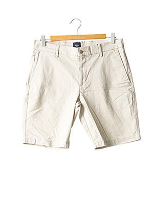 Short beige DOCKERS pour homme