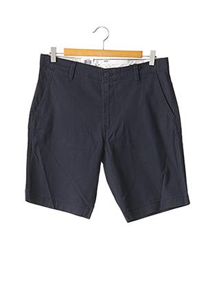 Short bleu LEVIS pour homme