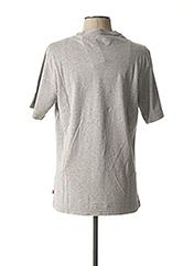 T-shirt manches courtes gris LEVIS pour homme seconde vue