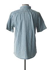 Chemise manches courtes bleu LEVIS pour homme seconde vue