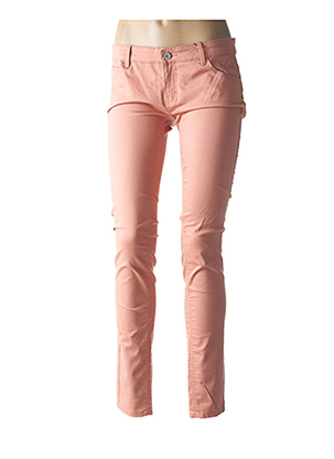 Jeans coupe slim rose ONLY pour femme