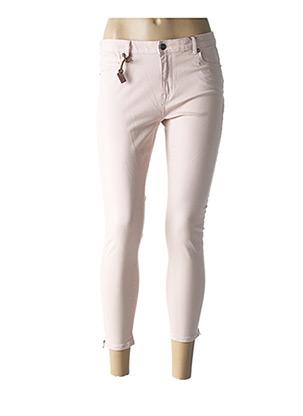 Pantalon 7/8 rose ONLY pour femme