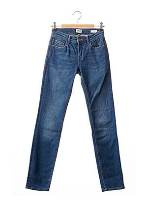 Jeans coupe slim bleu ONLY pour femme