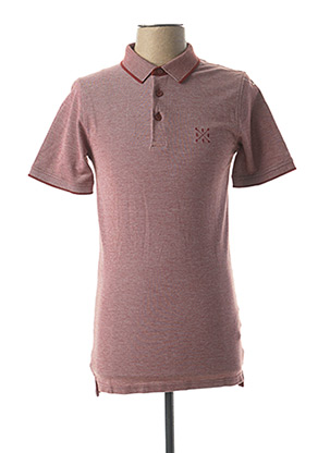Polo manches courtes rouge ONLY&SONS pour homme