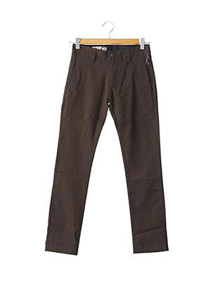 Pantalon casual marron VOLCOM pour homme