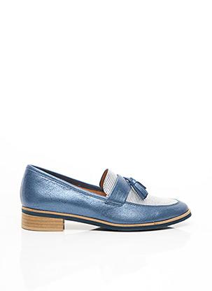 Mocassins bleu KARSTON pour femme