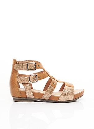 Sandales/Nu pieds marron KARSTON pour femme