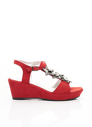 Sandales/Nu pieds rouge MADISON pour femme