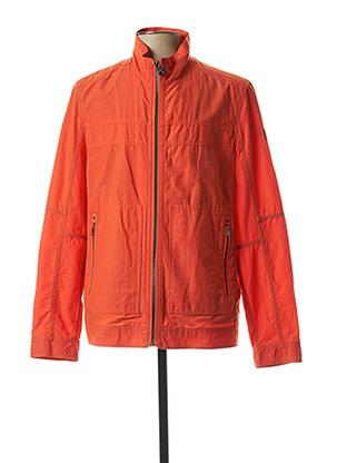 Blouson orange CASUAL SPIRIT pour homme