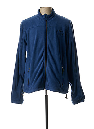 Veste casual bleu HAJO pour homme