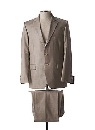 Costume de ville marron NINO LORETTI pour homme