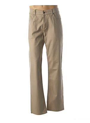 Pantalon casual beige LEE COOPER pour homme