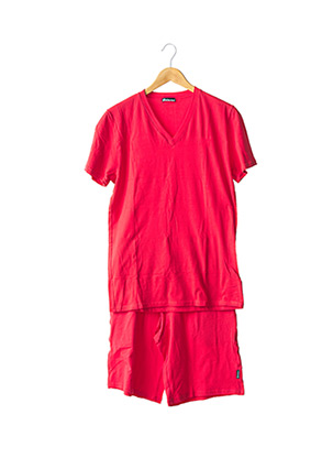 Pyjashort rouge EMINENCE pour homme