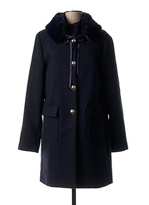Manteau long bleu XT STUDIO pour femme