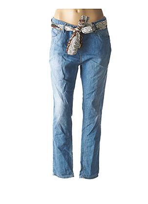 Jeans coupe droite bleu PLEASE pour femme