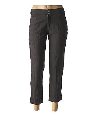 Pantalon 7/8 gris ET COMPAGNIE pour femme