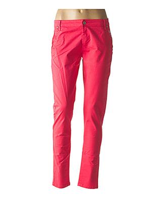 Pantalon casual rose SO SOON pour femme