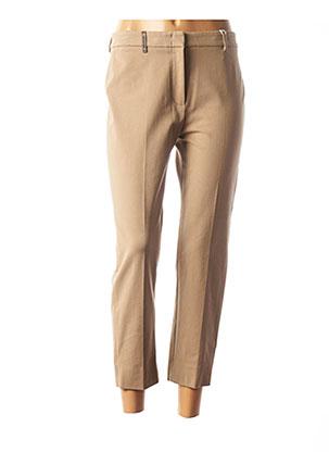 Pantalon 7/8 beige PESERICO pour femme