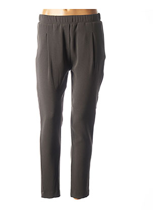 Pantalon casual vert ROSSO 35 pour femme
