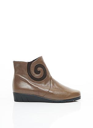 Bottines/Boots marron PEDI GIRL pour femme