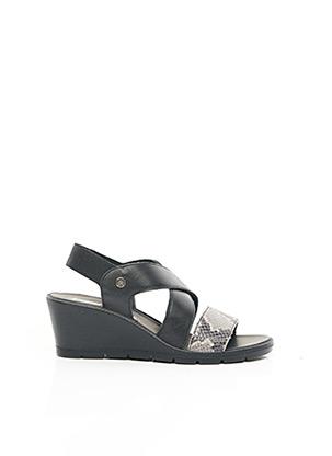 Sandales/Nu pieds noir ENVAL SOFT pour femme
