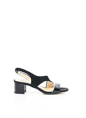 Sandales/Nu pieds noir JOHANN pour femme