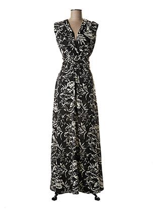 Robe longue noir TIFFOSI pour femme