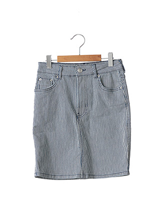 Jupe mi-longue bleu TIFFOSI pour femme