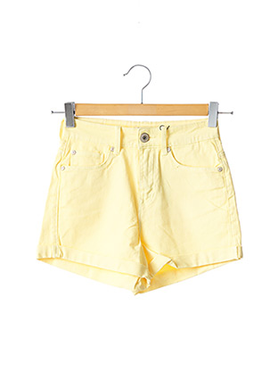 Short jaune TIFFOSI pour femme