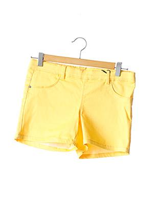 Short jaune NAME IT pour fille