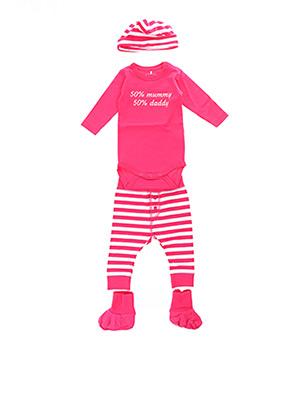 Top/pantalon rose NAME IT pour enfant