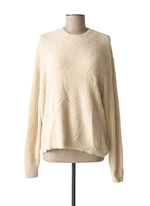 Pull col cheminée beige STREET ONE pour femme