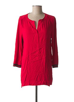 Tunique manches longues rouge STREET ONE pour femme