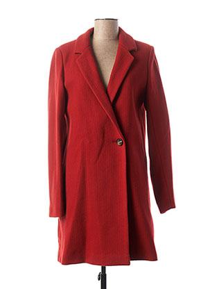 Manteau long rouge TRENCH & COAT pour femme