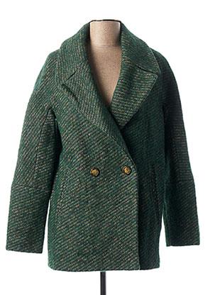 Manteau long vert TRENCH & COAT pour femme